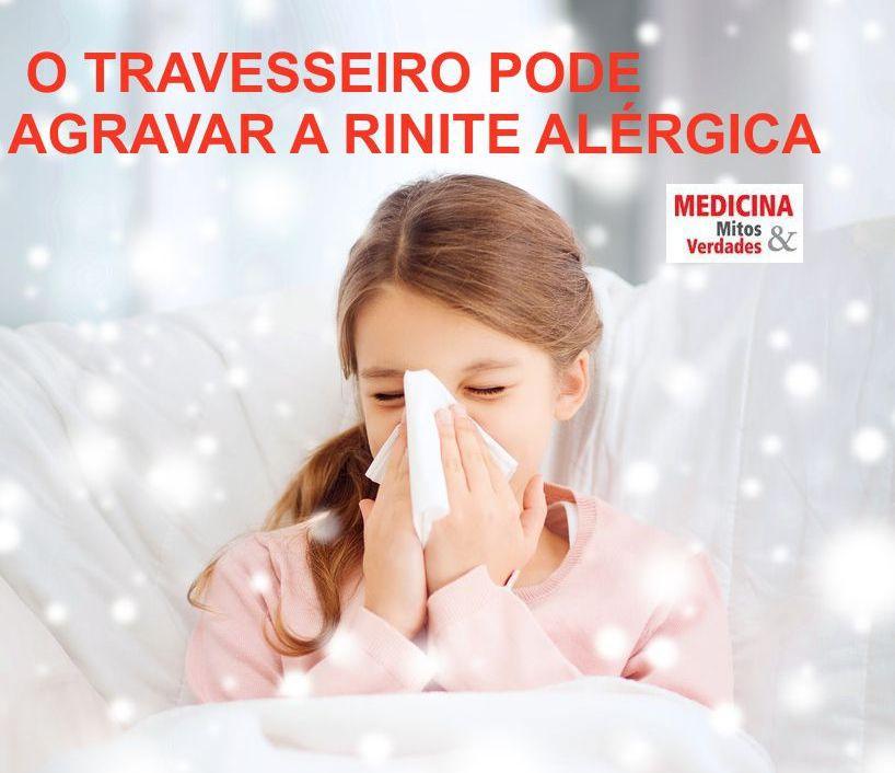 RINITE E A HIGIENE DO TRAVESSEIRO