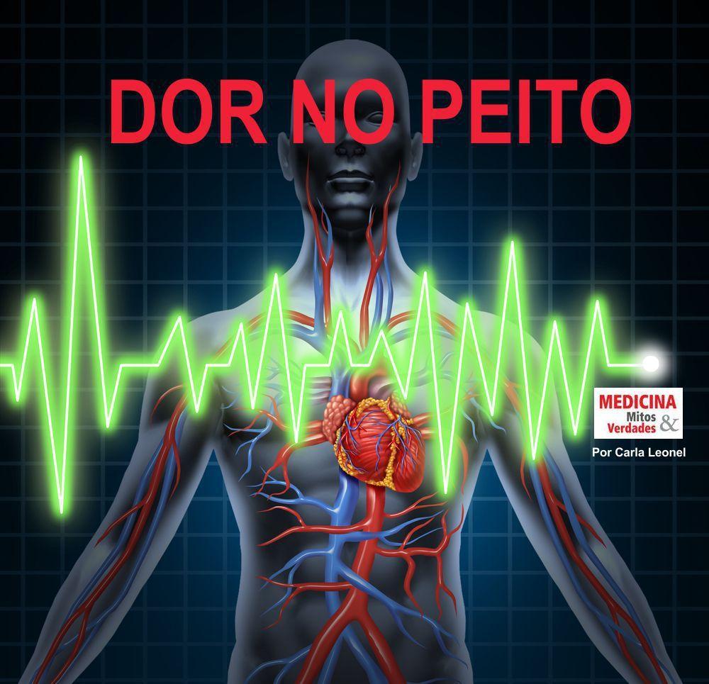 Dor no peito é infarto? Angina