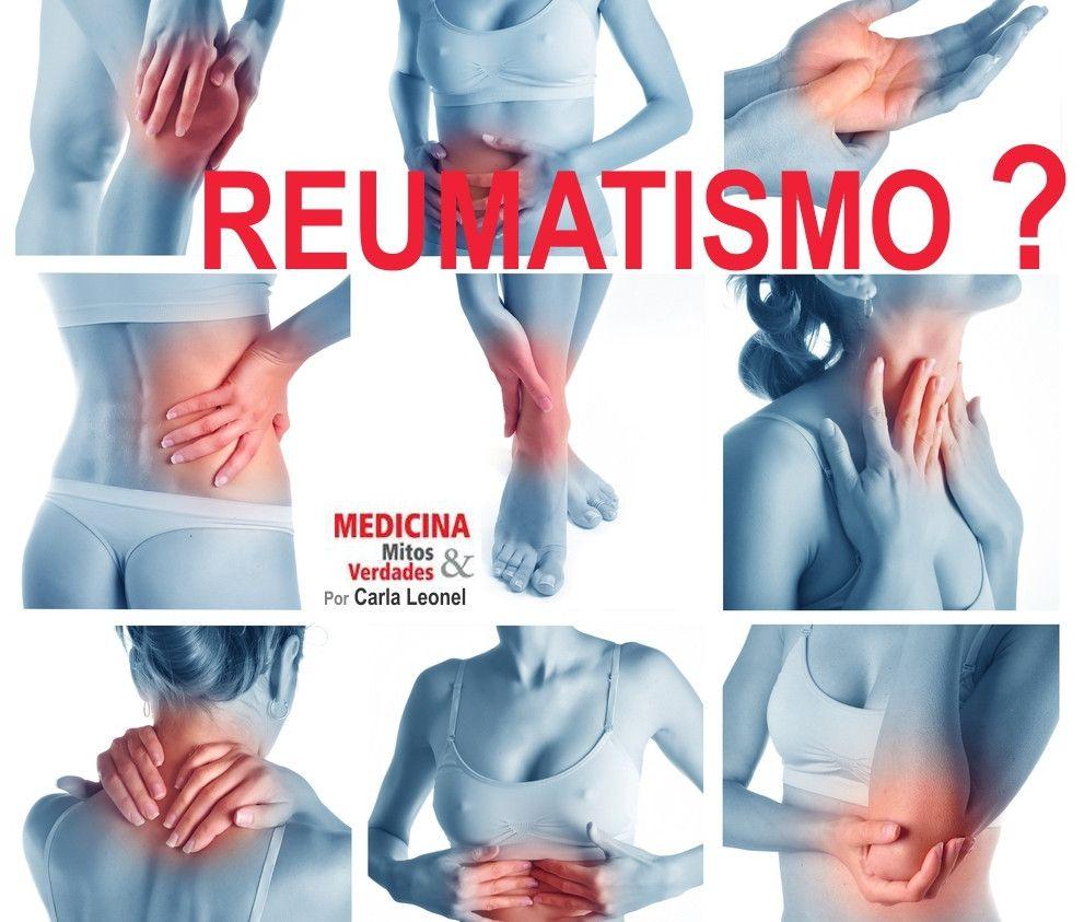 Será que estou com reumatismo?