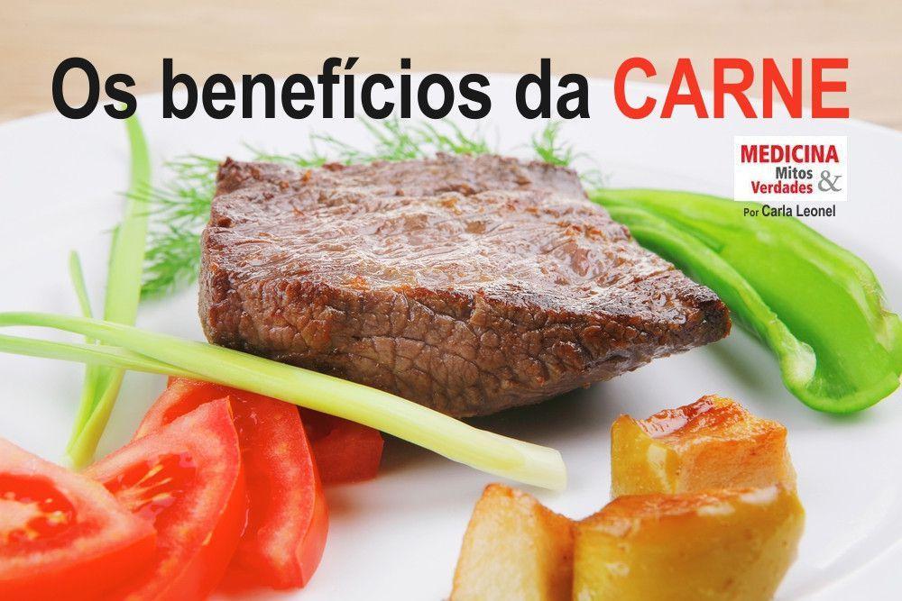 Os benefícios da carne vermelha