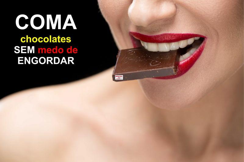 Você é chocólatra? A diferença entre o chocolate saudável e o calórico