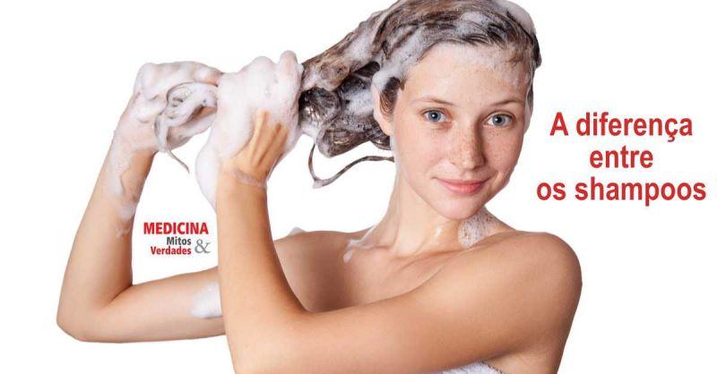 A diferença entre os shampoos e para que serve cada um deles: transparentes, leitoso e perolado