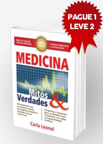 Capa Livro Medicina Mitos e Verdades