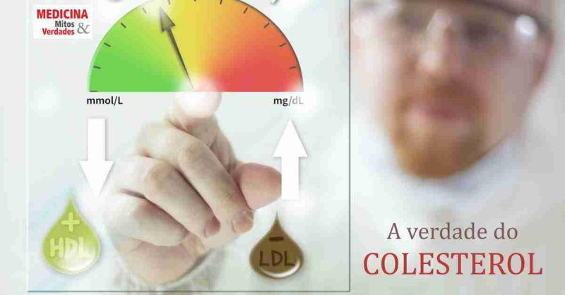 Colesterol alto nem sempre é grave