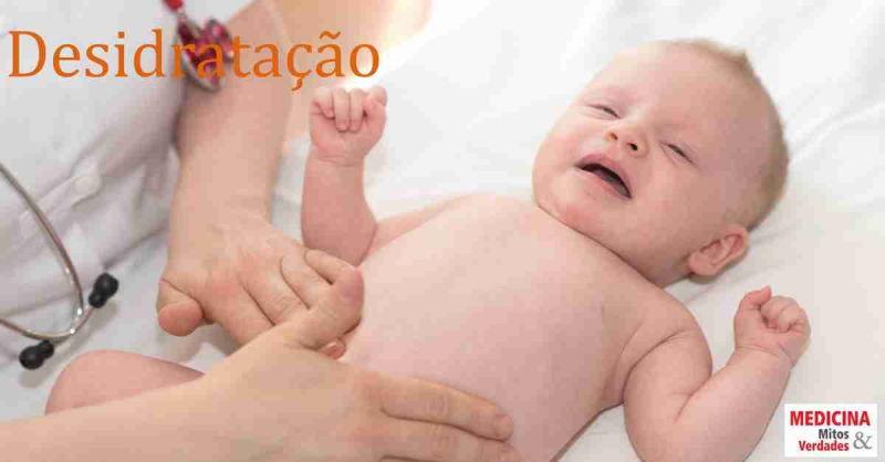 7 sinais graves da desidratação infantil