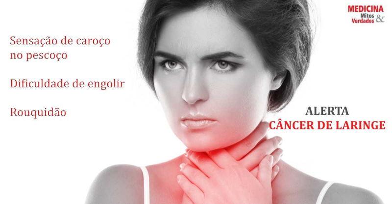 Rouquidão persistente e câncer na laringe