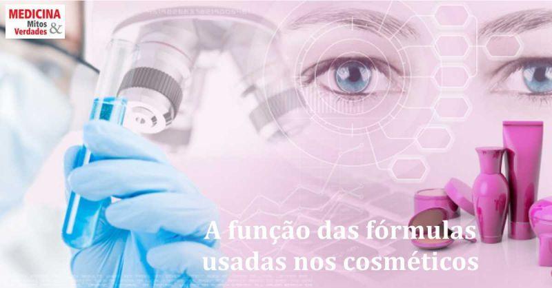 Nome e função das substâncias usadas nas fórmulas dos cosméticos