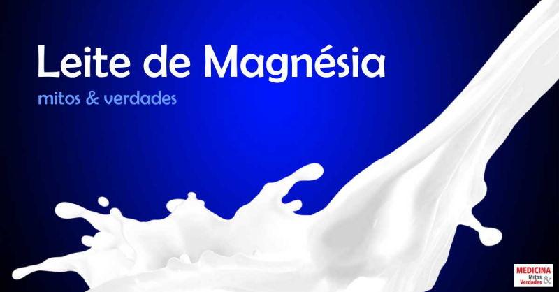 Leite de Magnésia: antiácido ou laxante?