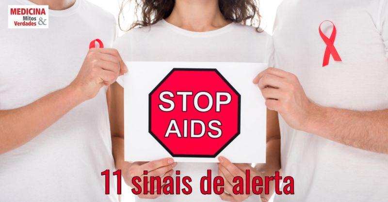 11 sintomas de alerta para AIDS: infecção pelo vírus HIV