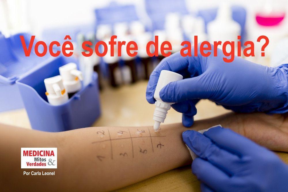 Por que uma pessoa é alérgica?