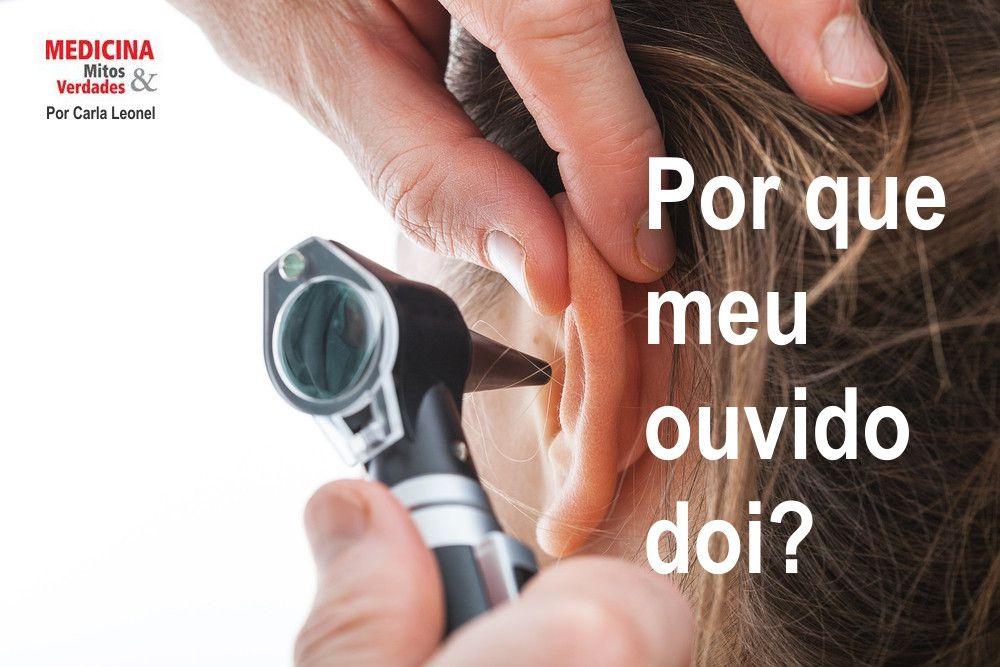 Causas da dor de ouvido e nevralgia