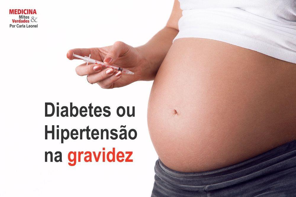 Por que algumas mulheres se tornam diabéticas ou hipertensas na gravidez?