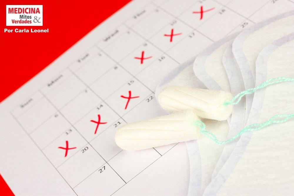 Por que eu menstruo por muitos dias?
