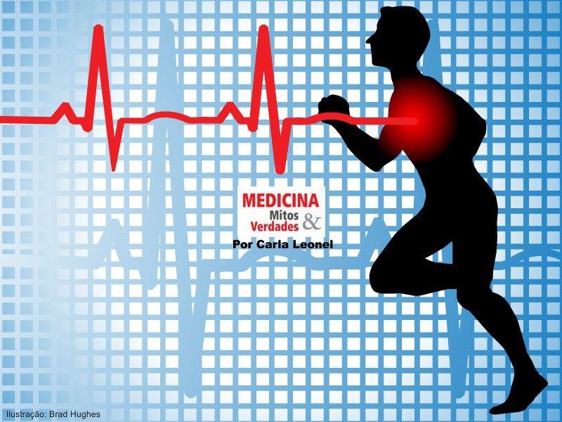 Infarto durante exercícios físicos