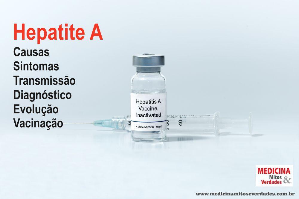 Hepatite por água ou alimento contaminado