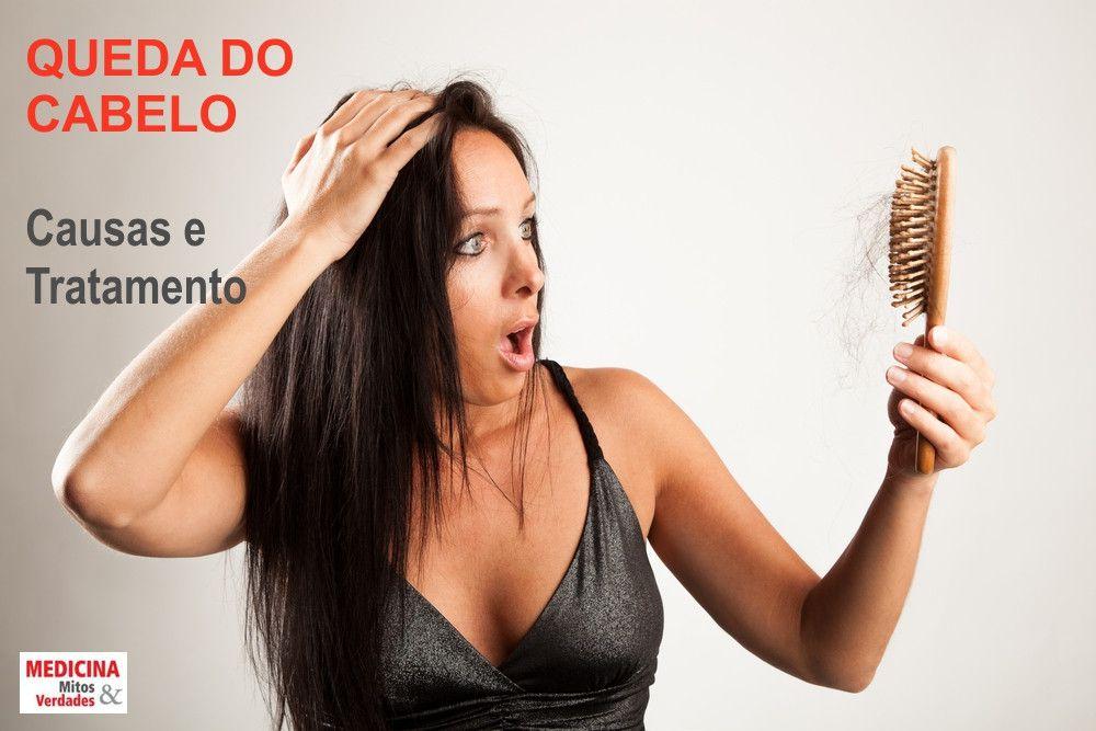 Causas e tratamento para a queda de cabelo