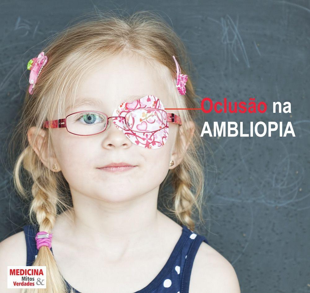 Problema de visão em crianças