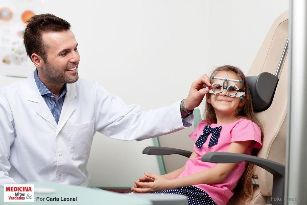 O exame oftalmológico em crianças