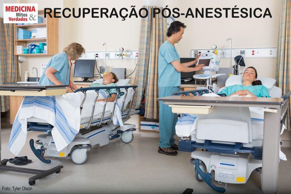 OS RISCOS NO TÉRMINO DA ANESTESIA