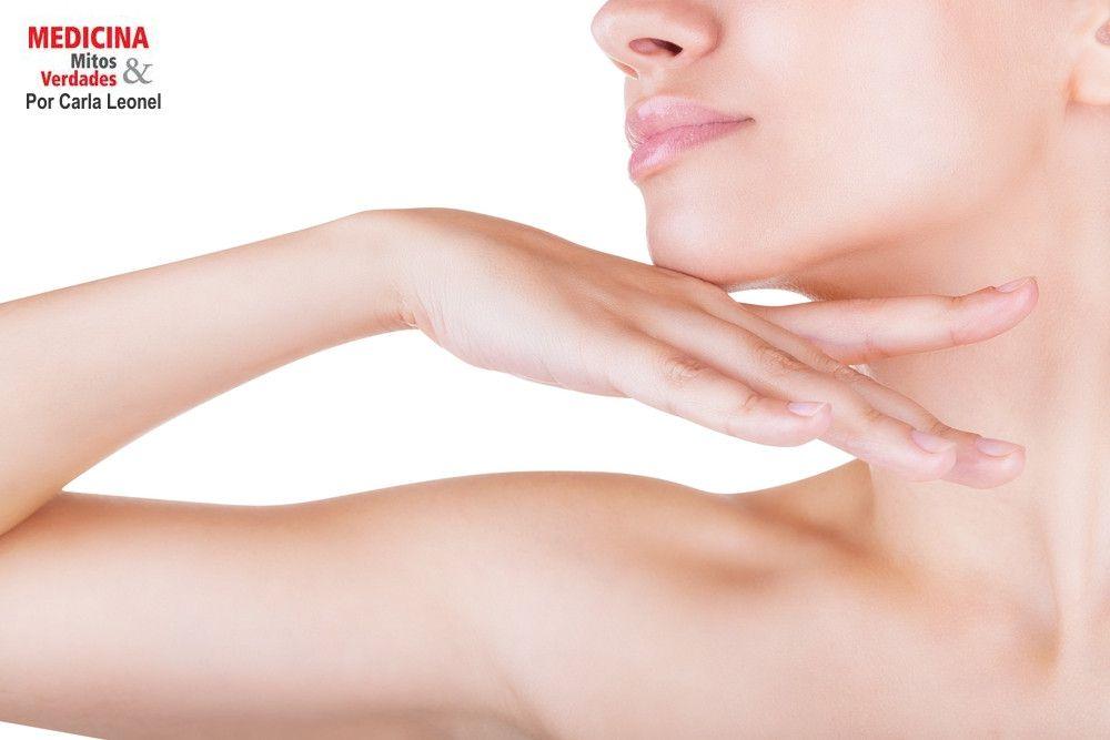 Existe tratamento para suavizar as linhas do pescoço sem plástica?
