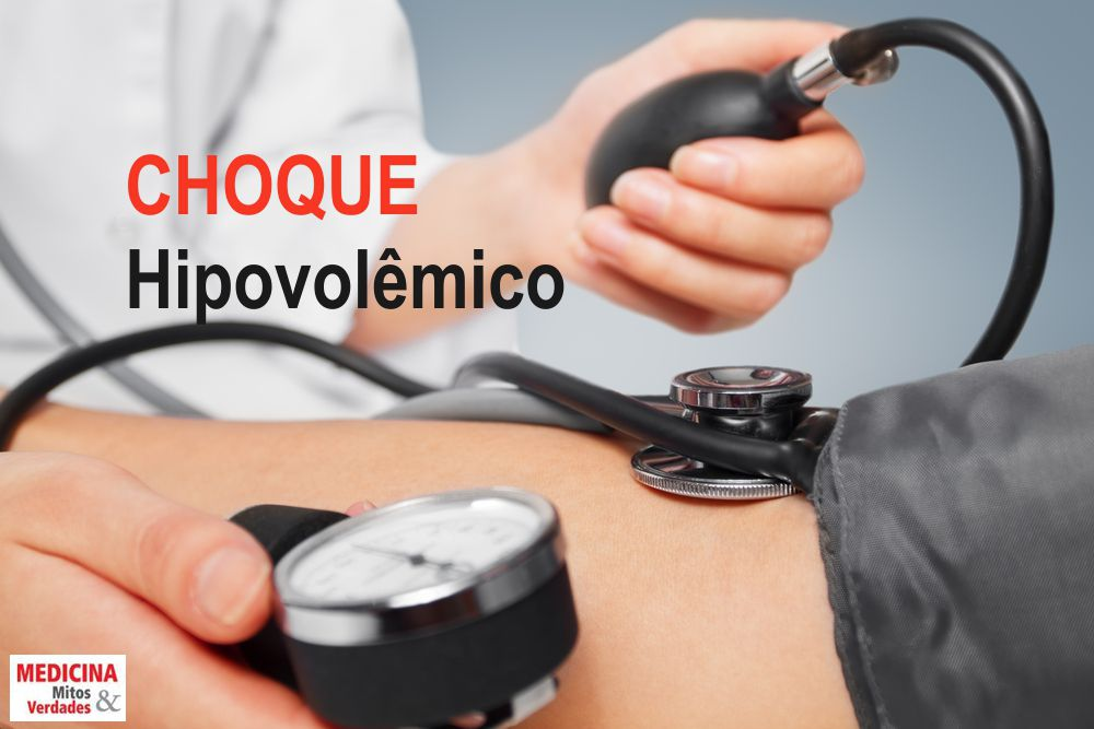 Causas e sintomas do choque hipovolêmico