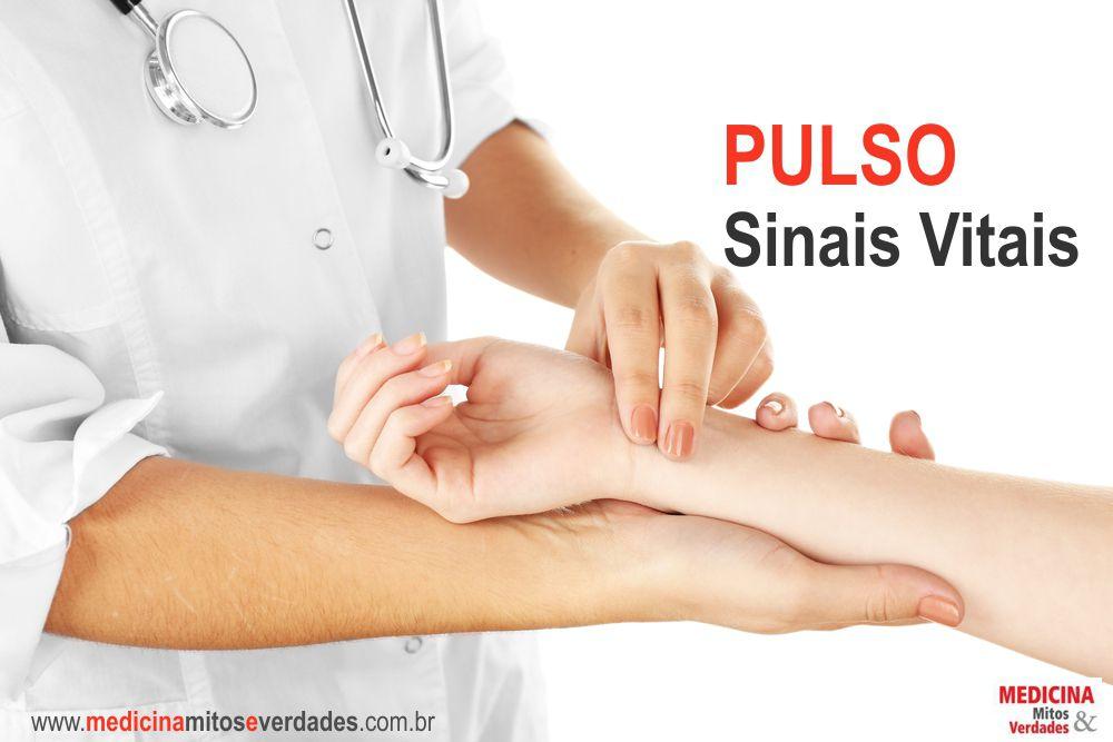 Sinais vitais e as alterações no pulso