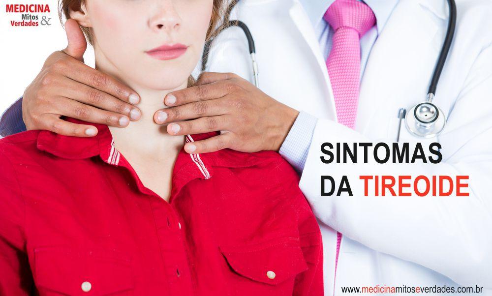 Sintomas de problemas na tireoide