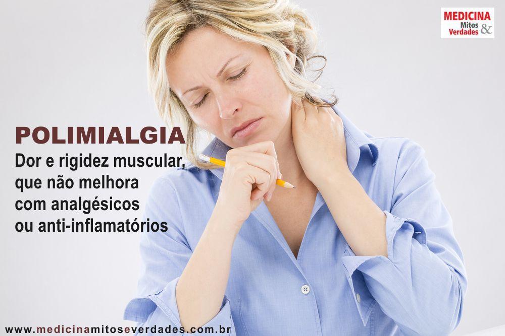 Dor muscular persistente pode ser polimialgia