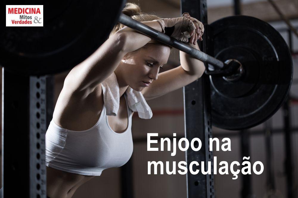 Enjoo e vômitos durante ou após os exercícios