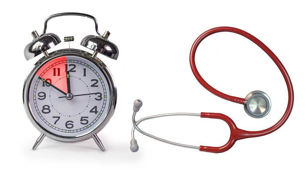Tempo do jejum na anestesia geral