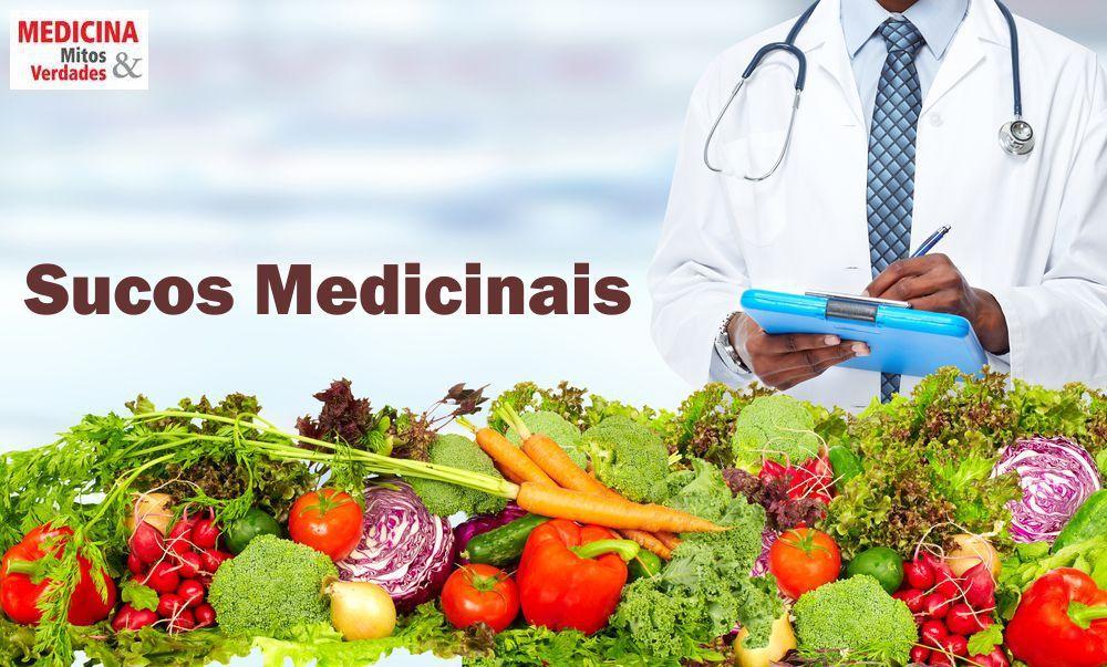 Sucos medicinais no combate as doenças