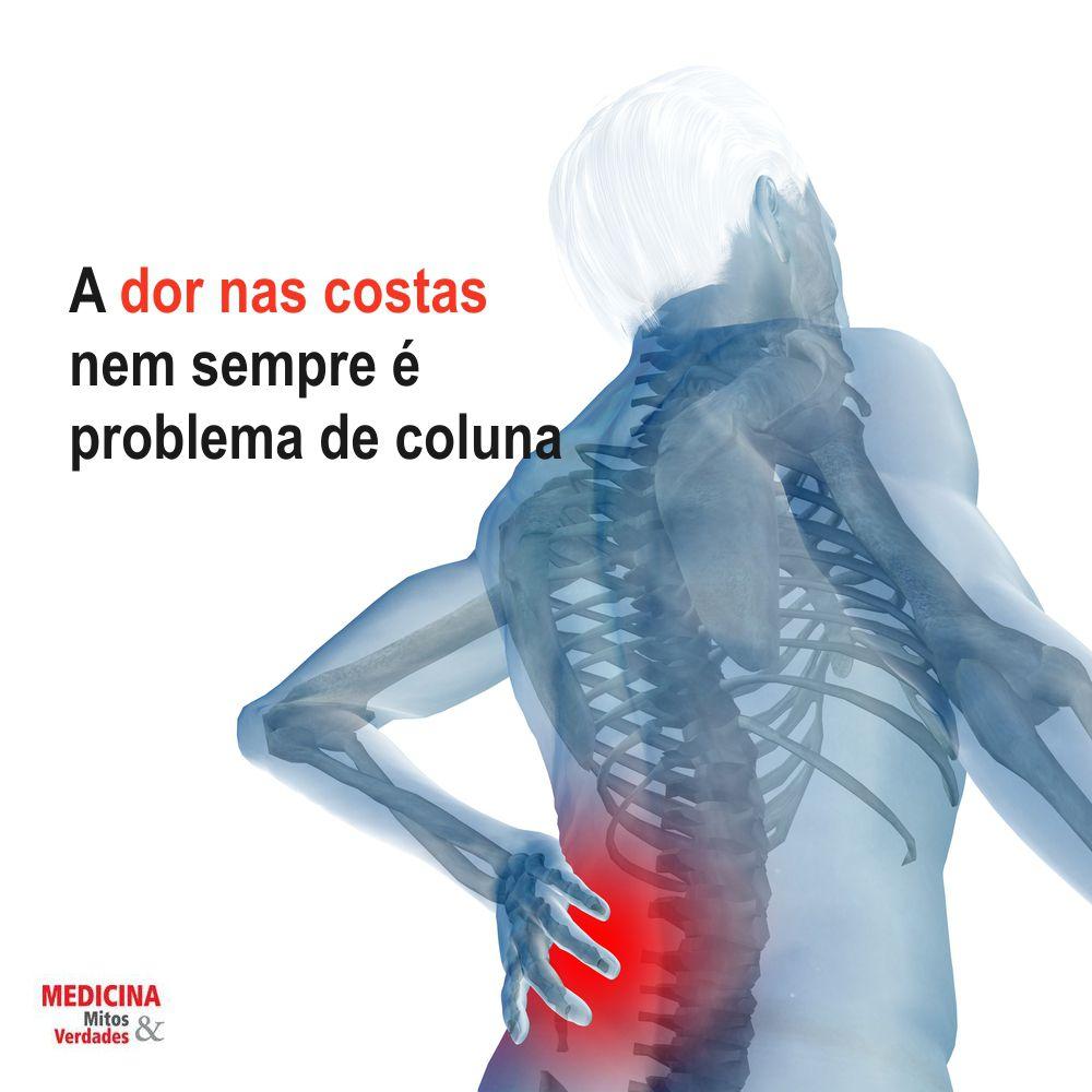 Causas de dor nas costas