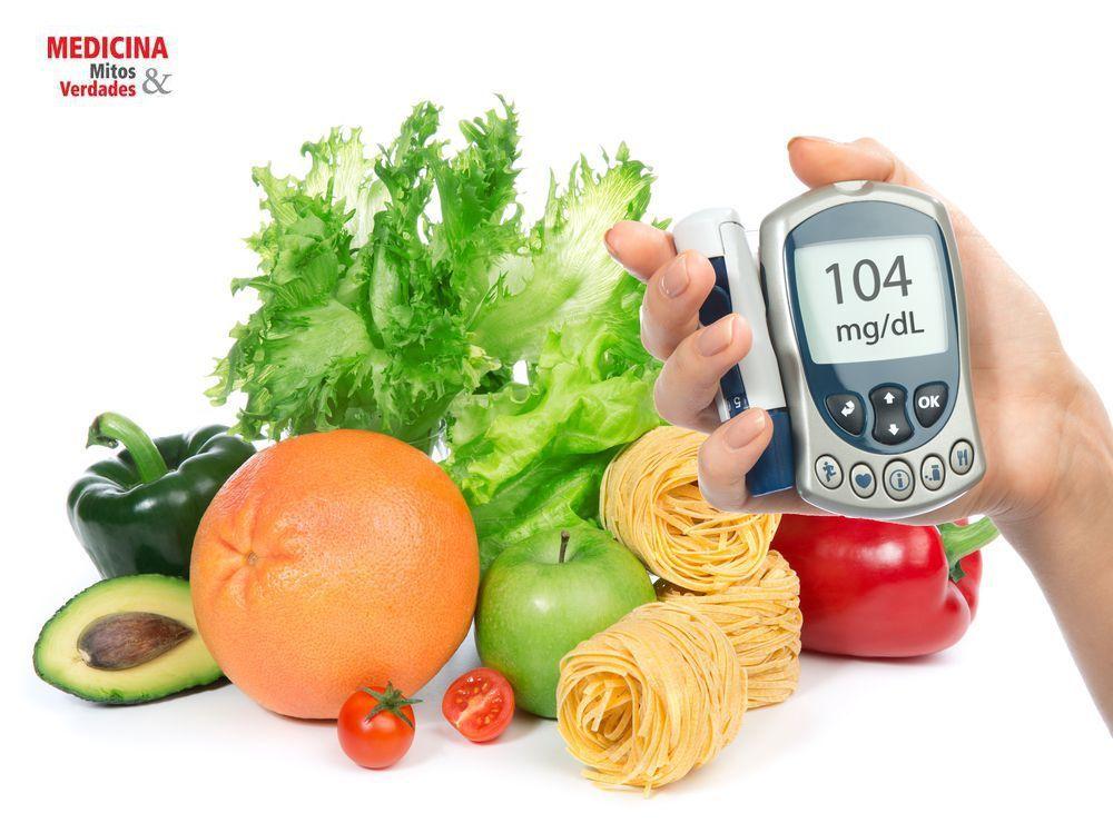 Alimentação para controle da glicose e insulina