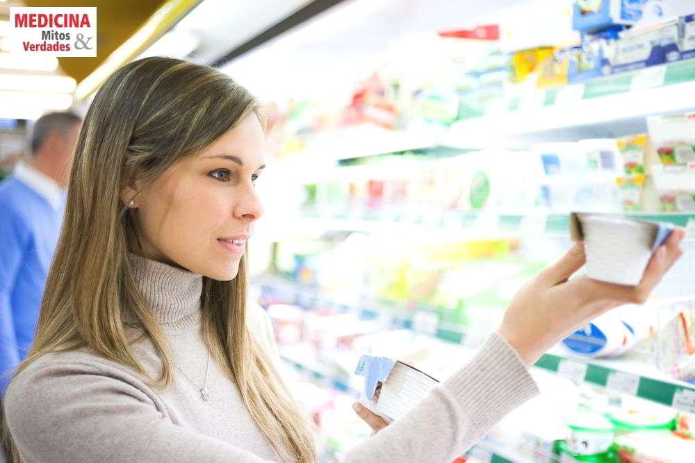 Diferença entre produtos diet e light