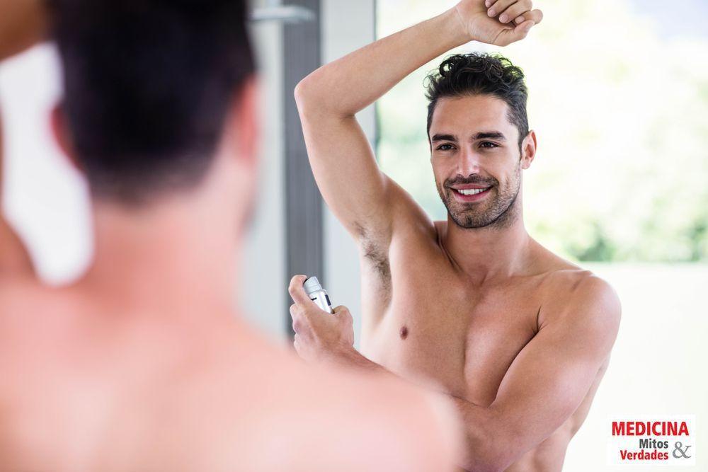 Desodorante masculino é diferente do feminino?