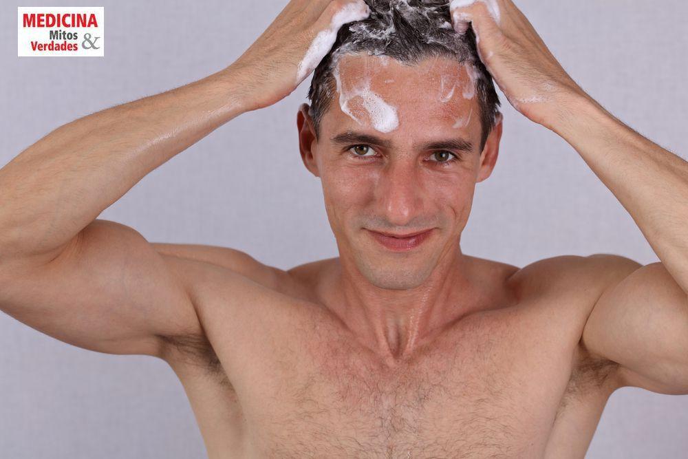 Shampoo masculino faz a diferença