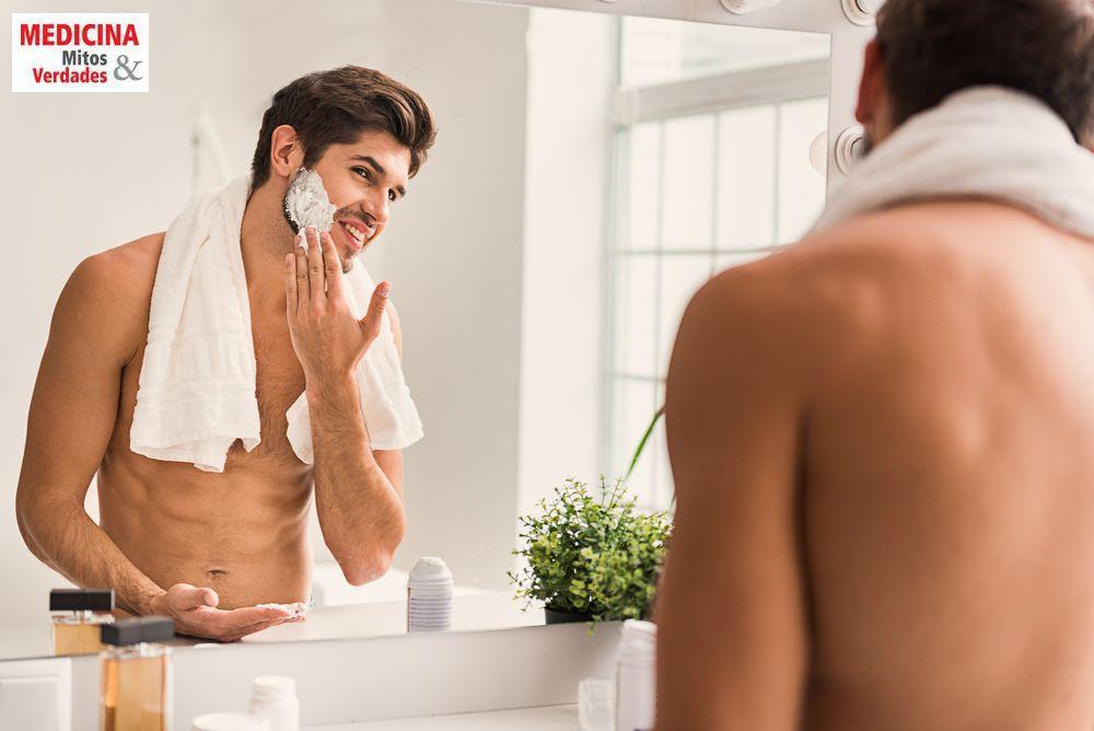 Diferença entre os aparelhos, cremes e lâminas de barbear