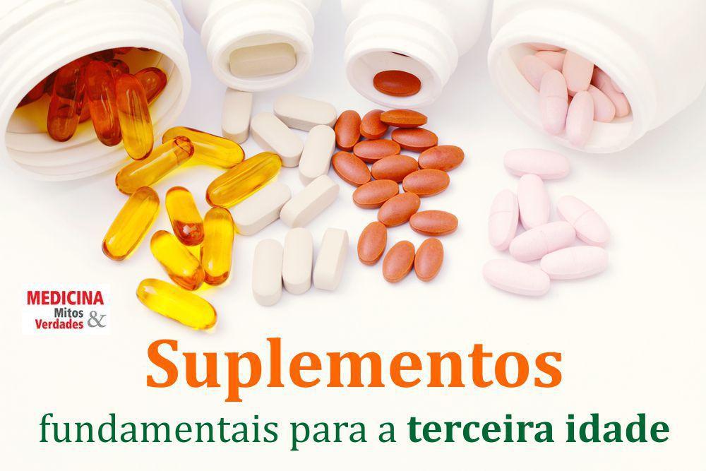 As vitaminas e minerais que não podem faltar para o idoso
