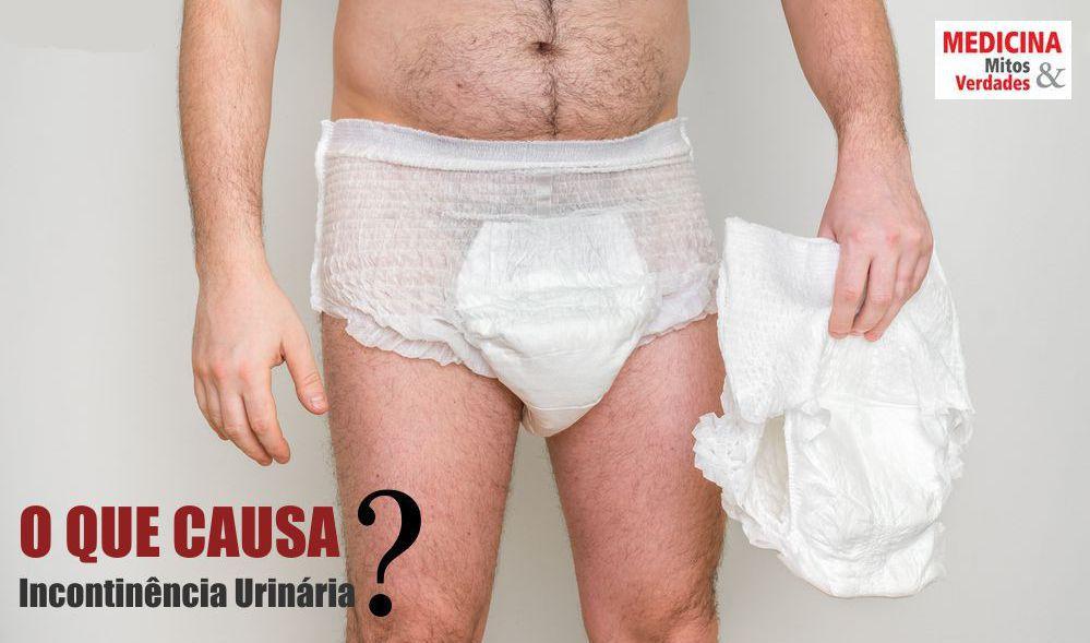 O xixi que vaza na calça: incontinência urinária - causas, sintomas e tratamentos